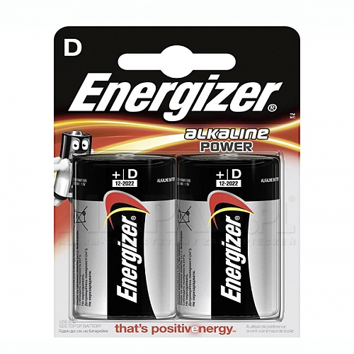 Bateria alkaliczna Energizer LR20 1.5V