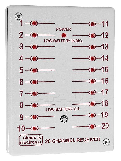CH20HR - Odbiornik radiowy 20 kanałowy