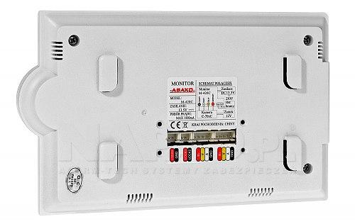 Zestaw monitor + stacja bramowa (M420C + C700C)