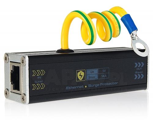 Zabezpieczenie urządzeń Ethernet USP201E