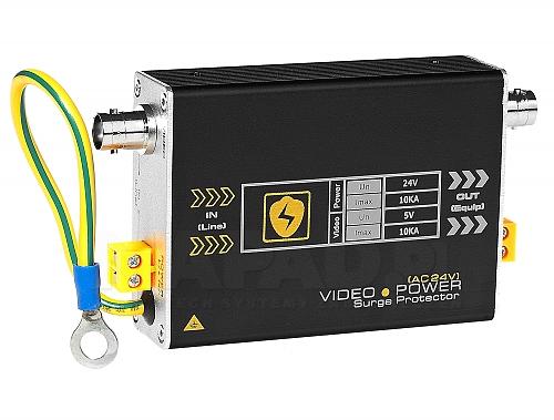 Zabezpieczenie wideo + zasilanie USP201PV24