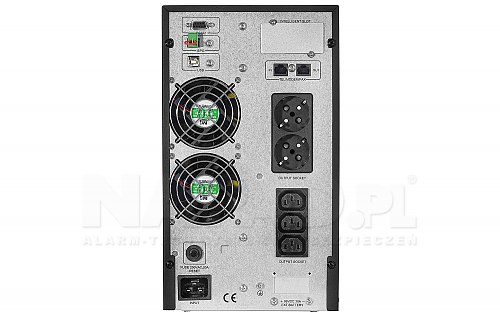 UPS power supply 2000T-ON 2x Schuko 3x IEC C13