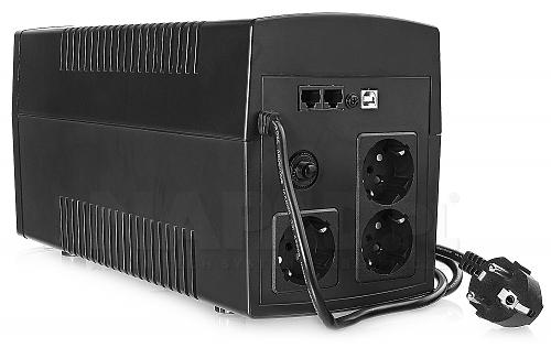 Zasilacz awaryjny UPS1200-LCD