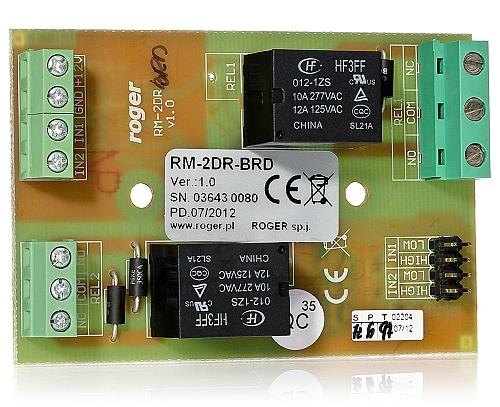 Moduł przekaźnikowy RM-2DR-BRD