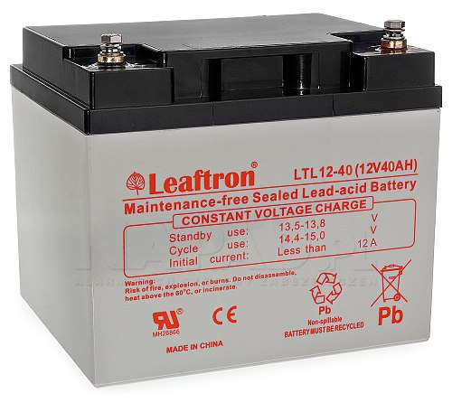 Akumulator 40Ah/12V Leaftron