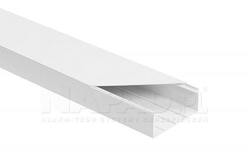 Listwa elektroinstalacyjna 90x40 biała