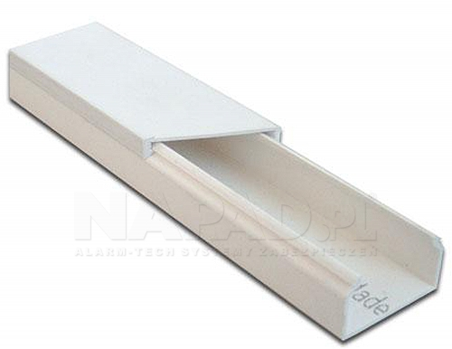 Listwa elektroinstalacyjna 25 x 18 biała