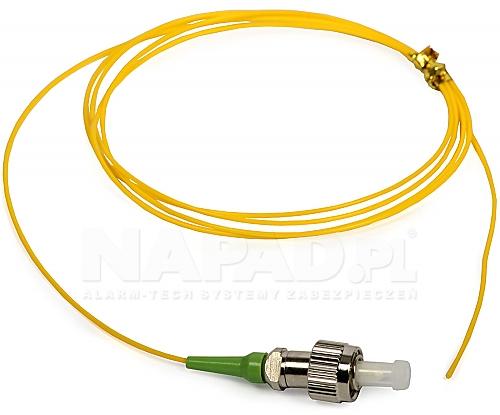 Pigtail optyczny jednomodowy FC SM 9/125 3m
