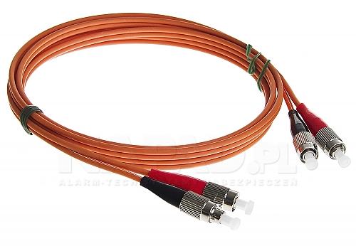 Patchcord optyczny wielomodowy FC-FC 50/125 1m duplex