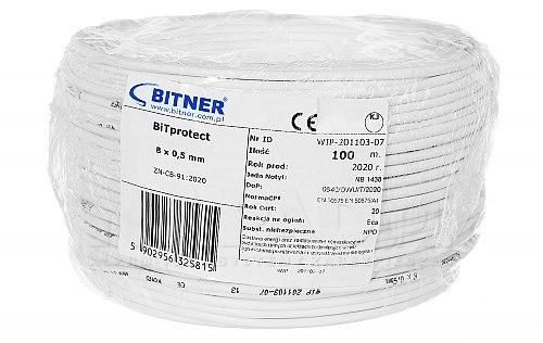 Kabel elektryczny YTDY bitner bitprotect 8 x 0,5 mm