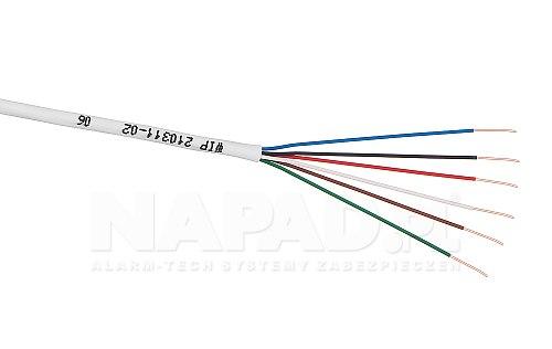Kabel YTDY Bitner 6x 0.5mm