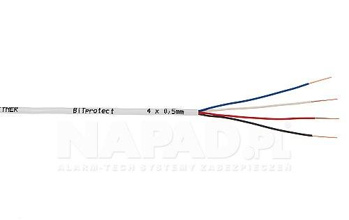 Kabel elektryczny bitner ytdy 4 x 0,5 mm