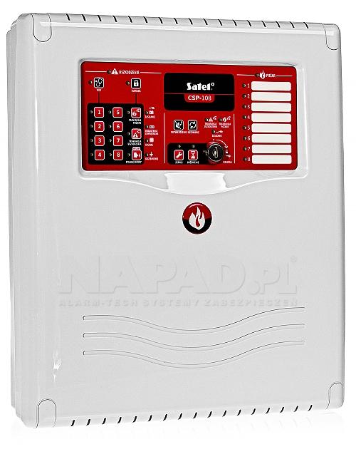 Centrala sygnalizacji pożarowej CSP-108 Satel
