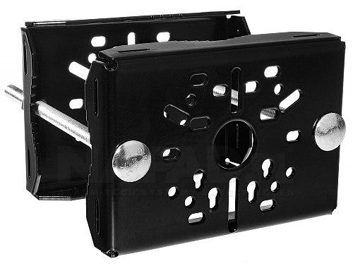 Uniwersalny uchwyt do słupa DKS-105 w kolorze czarnym