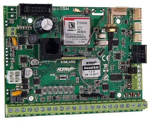 Centrala alarmowa NEOGSM z komunikacją GSM ROPAM