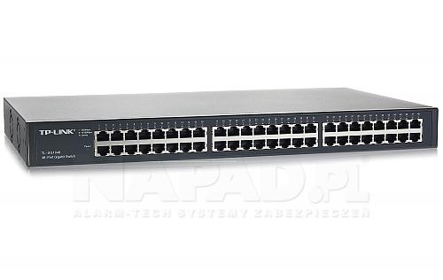 Switch gigabitowy, 48-portowy TL-SG1048 RACK 19'' TP-Link