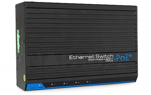 Switch do rozwiązań monitoringu sieciowego IPOX SW204E-POE-A1