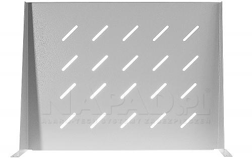 Półka doczołowa do szafy RACK 600mm PD-600W biała