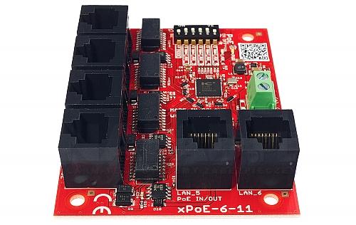 5 port switch x poe 611of