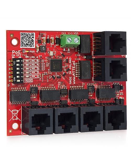 Switch 5-portowy PoE xPoE-6-11-OF