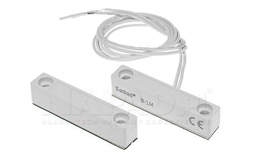 Kontaktron nawierzchniowy Satel B1M biały