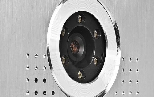 S563 - Wbudowana kamera w stacji bramowej.