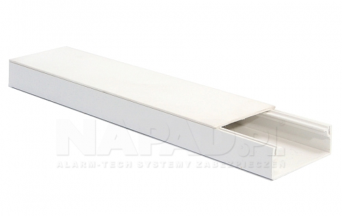 Listwa elektroinstalacyjna 40 x 25 biała