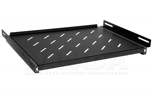 Wysuwana półka głębokości 350mm PWD600 Rack Systems czarna