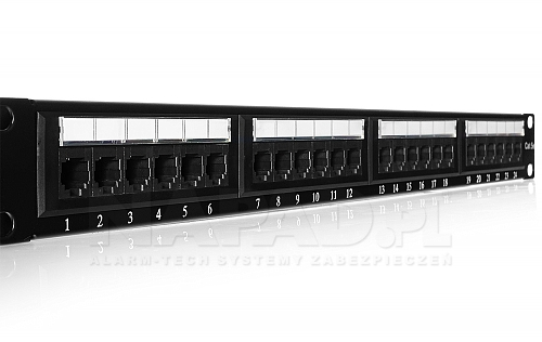 Patch panel 24-porty UTP5e 19