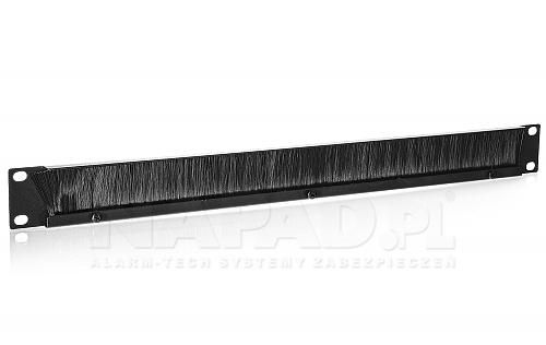 Panel szczotkowy do szafy Rack 19'' PSZ1U