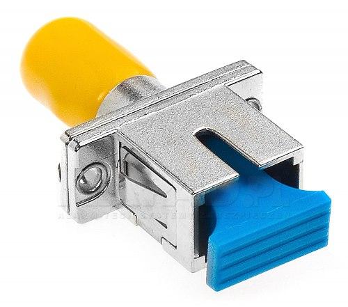 Adapter hybrydowy SM SC/UPC - ST/UPC simplex