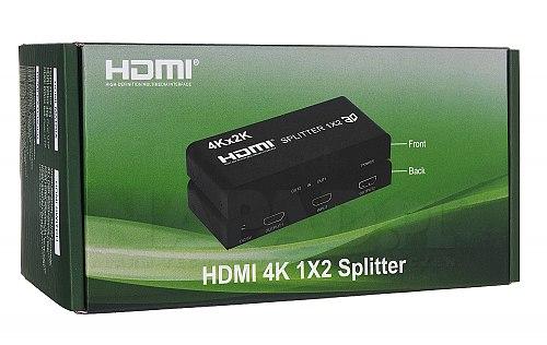 Opakowanie rozgałęźnika HDMI 1/2