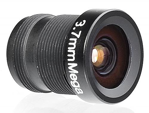 Obiektyw megapikselowy MINI 3.7mm (2Mpx)