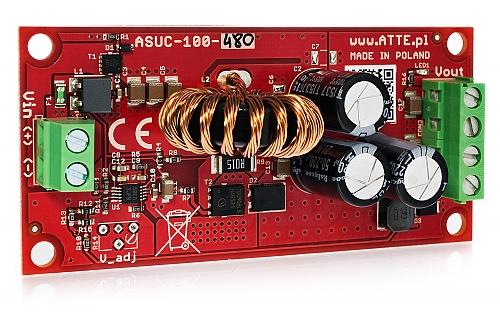 Moduł podnoszący napięcie ATTE ASUC-100-480-OF