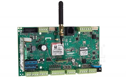 Centrala alarmowa OptimaGSM-PS z zasilaczem