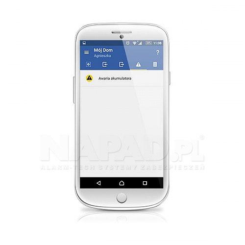 Aplikacja mobilna do zdalnego sterowania systemem alarmowym VERSA