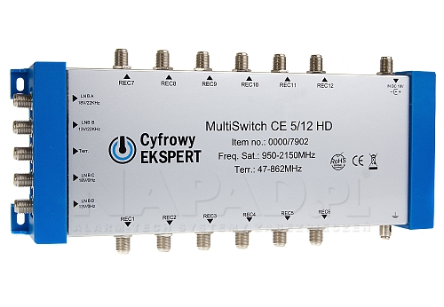 Multiswitch 5/12 CE HD