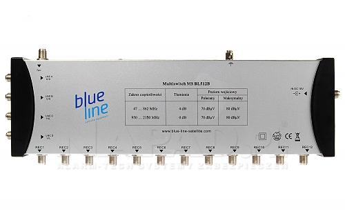 Multiswitch 5/12 MS BL512B