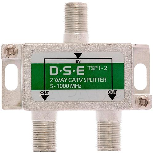 Rozgałęźnik CATV 1x2 DSE TSP1-2