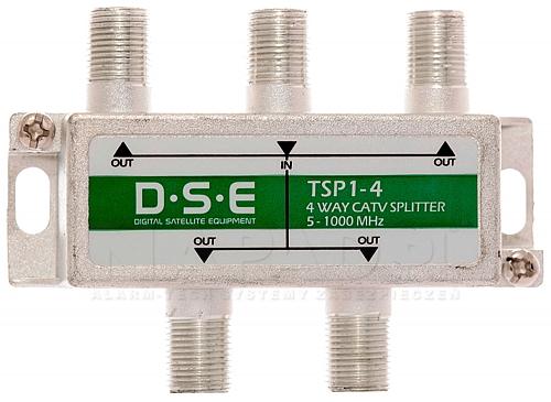 Rozgałęźnik CATV 1x4 DSE TSP1-4