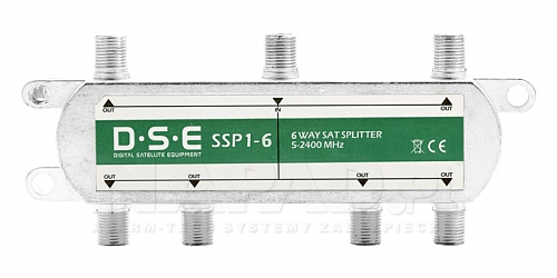 Rozgałęźnik SAT 1x6 DSE SSP1-6
