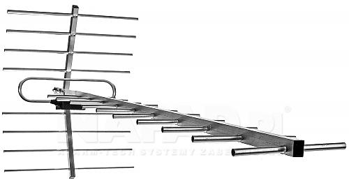 Antena DVB-T 19/21-69 z symetryzatorem