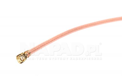 Konektor wtyk U.FL - gniazdo SMA R/P 0,2m