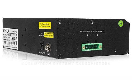 Gigabitowy switch 4-portowy IPOX SW4G-P150-U2G
