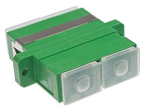 Adapter światłowodowy SM SC/APC duplex