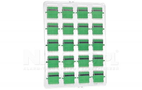 Komplet adapterów SM 2x SC/APC - 2x SC/APC