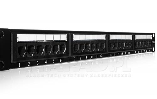 Patch panel 24-porty UTP6 19