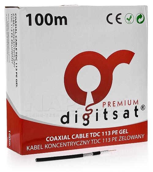 Przewód koncentryk DIGITSAT TDC113 PE