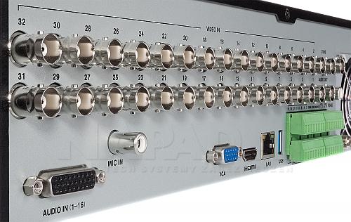 PX HDR3238H - rejestrator AHD, CVI, TVI, CVBS