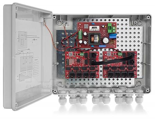 9 portowy Switch PoE ATTE IP-P-11-L2